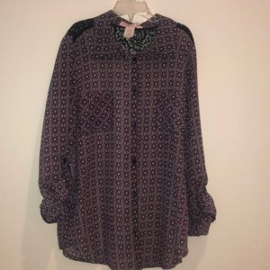 Other - Zoe and Rose button down collared shirt